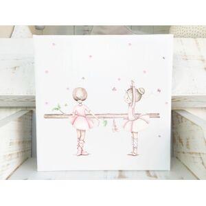 imda Cuadro infantil & 39;Bailarinas Dance& 39; (lienzos: Medida 30 x 40cm)