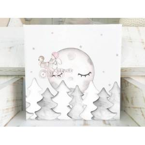 imda Cuadro infantil & 39;Dreams III& 39; (lienzos: Medida 40 x 40cm)