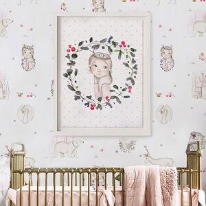 imda Lámina decorativa & 39;Princess Nordic& 39; (lienzos: Medida 50 x 70cm)