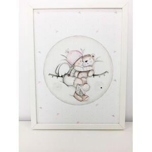 imda Lámina decorativa & 39;Luna Dreams rosa& 39; (lienzos: Medida 61 x 91cm)