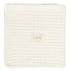 casual Manta crochet crudo (Mantas crochet: Medida 110 x 145cm)