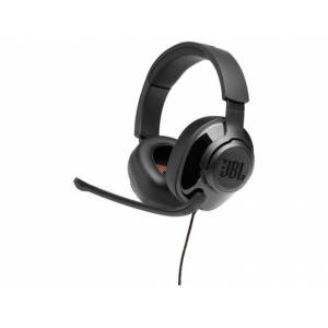 JBL Auriculares Gaming con cable JBL QUANTUM 200 (Over Ear - Micrófono - Negro)