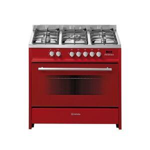 MEIRELES Cocina MEIRELES E 911 Rojo (121 L - Gas Butano-Propano - Rojo)