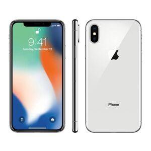 Apple iPhone X APPLE (Reacondicionado: A+ - 5.8& 39;& 39; - 64 GB - Plata)