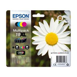 Epson Pack ahorro cartuchos de tinta original EPSON, 18XL, Margarita, C13T18164012, T1816