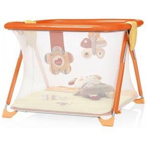 BREVI Parque BREVI Soft & Play - Natural Love (1050 x 1050 x 790 mm - Naranja y Blanco)