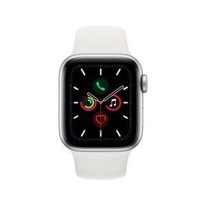 Apple Watch Series 5 GPS+Cellular (Sport band - 40 mm - Aluminio plata, blanco)