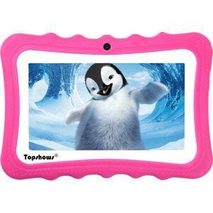 "TOPSHOWS Tablet para Niños TOPSHOWS X1 (7"" - 16GB - 1GB RAM - Wi-Fi - Rojo)"