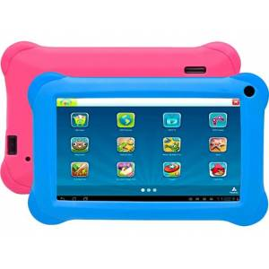 Denver Tablet para Niños DENVER TAQ-70352K (7& 39;& 39; - 8 GB - 1 GB RAM - Wi-Fi - Azul y Rosa)