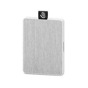 Seagate Disco SSD SEAGATE STJE500402 (500 GB - Blanco)