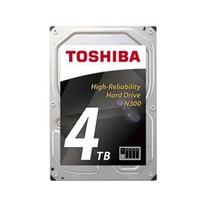 Toshiba Disco HDD Interno TOSHIBA N300 Bulk (4 TB - SATA - 7200 RPM)