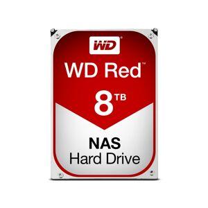 Western Digital Disco HDD Interno WESTERN DIGITAL Red (8 TB - SATA - 5400 RPM)