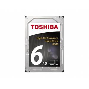 Toshiba Disco HDD Interno TOSHIBA X300 Bulk (6 TB - SATA - 7200 RPM)