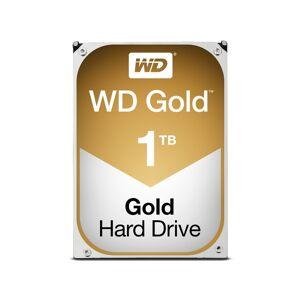 Western Digital Disco HDD Interno WESTERN DIGITAL Gold (1 TB - SATA - 7200 RPM)