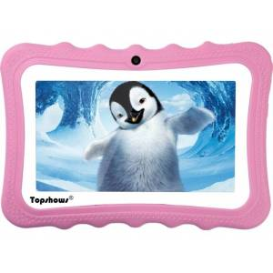 "TOPSHOWS Tablet para Niños TOPSHOWS X1 (7"" - 16GB - 1GB RAM - Wi-Fi - Rosa)"