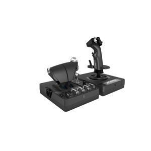 Logitech Mando Alámbrico LOGITECH X56 H.O.T.A.S. (PS3,PC - Negro)