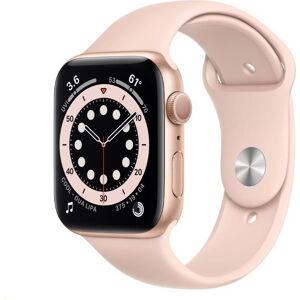 Apple Reloj Apple Apple Watch S6 GPS, 44mm Gold Aluminium Case with Pink Sand Sport Band - Regular