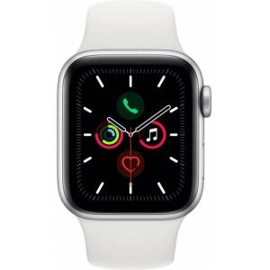 Apple Reloj Apple Apple Watch Series 5 GPS, 40mm Silver Aluminium Case with White Sport Band