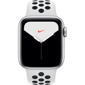 Apple Reloj Apple Apple Watch Series 5 GPS, 40mm Silver Aluminium Case with Pure Platinum/Black Sport Band