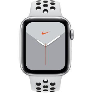Apple Reloj Apple Apple Watch Series 5 GPS, 44mm Silver Aluminium Case with Pure Platinum/Black Sport Band