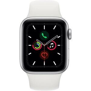 Apple Reloj Apple Apple Watch Series 5 GPS, 44mm Silver Aluminium Case with White Sport Band
