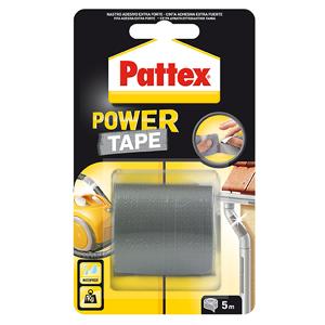 PATTEX Adhesivo Pattex Power-tape Gris 50 X 5 M