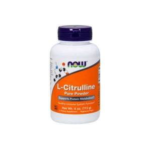 Now Foods L-citrulina pura en polvo - 113g