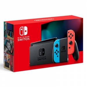 Nintendo SWITCH CONSOLE JOY-CON ROJO/AZUL
