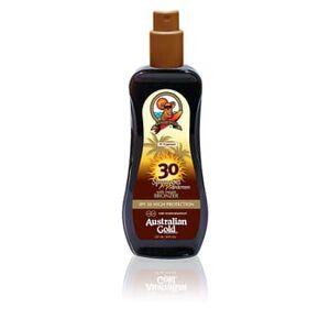 Australian Gold Sunscreen SPF30 Spray Gel With Instant Bronzer 237 ml