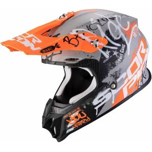 Scorpion VX-16 Air Oratio Casco de Motocross