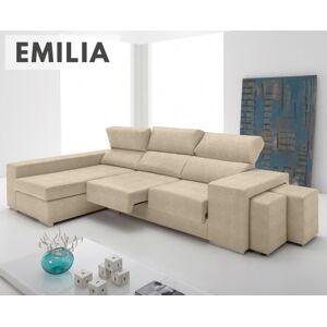 Sofá de tela Emilia