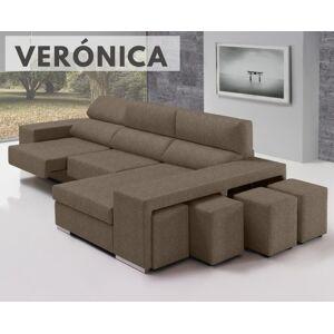 Sofá de tela Verónica