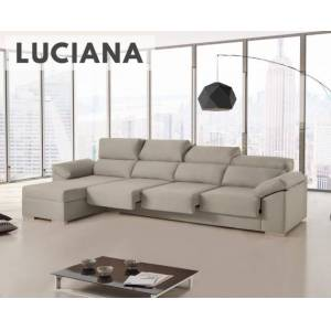 Sofá de tela Luciana HOME