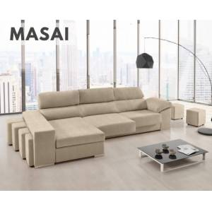 Sofá de tela Masai