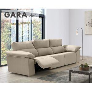 Sofá relax de tela Gara Plus