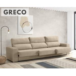 Sofá de tela Greco