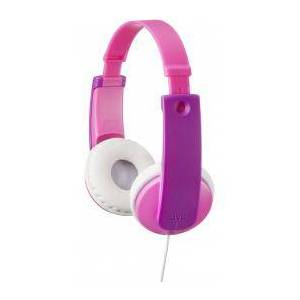 JVC Auriculares para niños JVC HA-KD7 Rosa