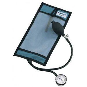 Equipo de Infusión a Presión Riester Metpak 500 ml, Manómetro Cromado, con Brazalete Azul para Infusión a Presión. Sin látex