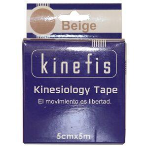 Vendaje Neuromuscular - Kinefis Kinesiology Tape Beige 5 cm x 5 metros