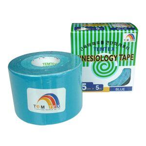 Temtex Kinesiology tape BKT-05 5cm X 5m Azul