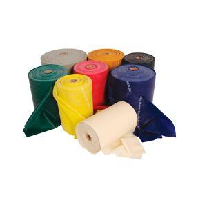 Bandas elásticas sin latex - 5,5 metros (diferentes colores - resistencias)