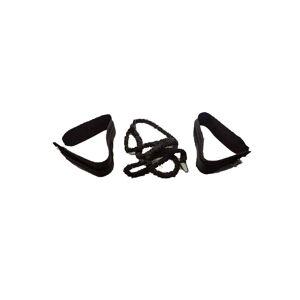 Cinturón de resistencia con cuerdas elásticas: Diseñado para potenciar entrenamientos del tren inferior