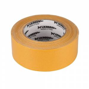 Silverline Cinta adhesiva doble cara resistente. 50 mm. 33 metros.