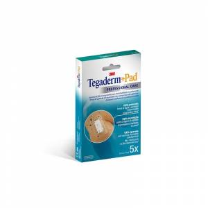 3M Tegaderm + Pad 5cm x 7cm 5 Apositos
