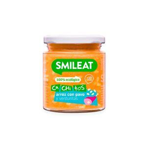 Smileat Tarrito con Cachitos de Arroz con Pavo y Verduras 230gr