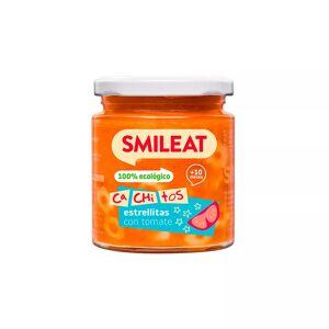 Smileat Tarrito con Cachitos de Estrellitas de Pasta con Tomate 230gr