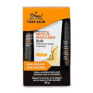 Simply Supplements Fórmula Masaje Cuello y Hombros de Tiger Balm® - 50 g