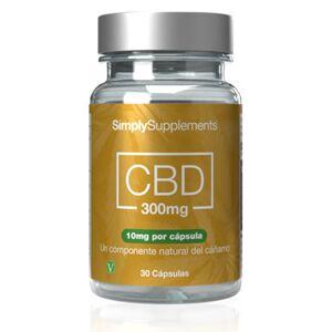 Simply Supplements CBD 300mg - 30 Cápsulas