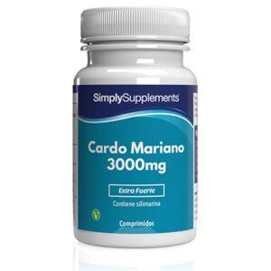 Simply Supplements Cardo Mariano 3000mg - 120 Comprimidos