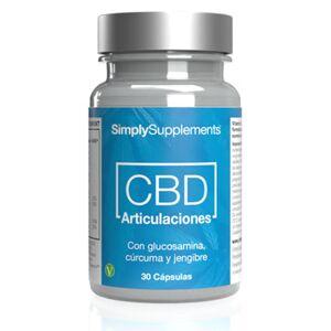 Simply Supplements CBD Articulaciones - 30 Cápsulas